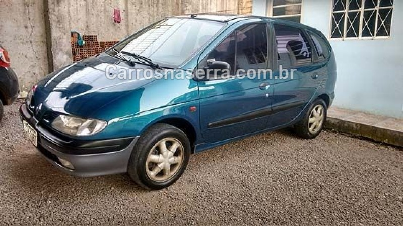 scenic 2.0 rxe 8v gasolina 4p manual 1999 caxias do sul