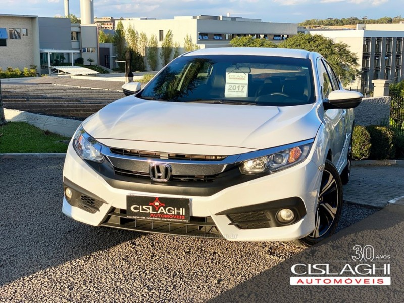 civic 2.0 16v flexone exl 4p cvt 2017 carlos barbosa