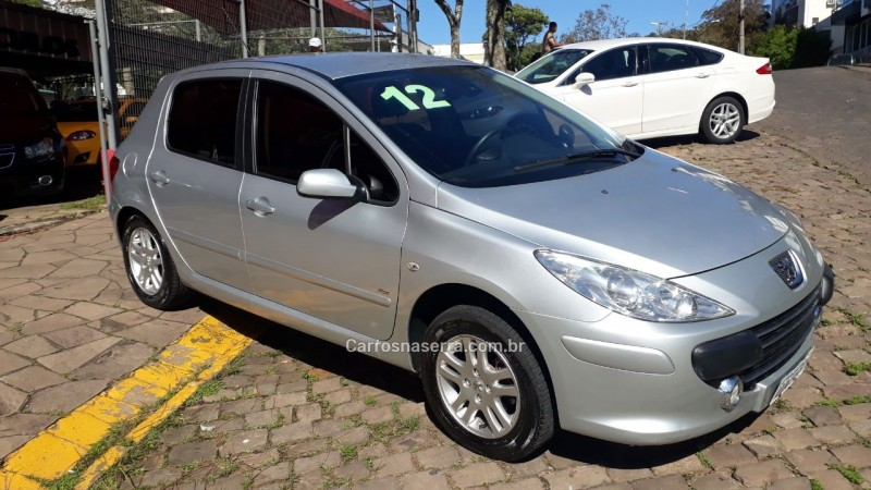 307 1.6 presence 16v flex 4p manual 2012 nova prata