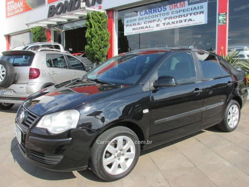 polo 1.6 mi 8v flex 4p manual 2009 farroupilha