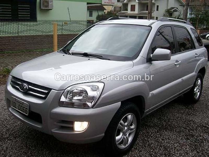 sportage 2.7 ex 4x2 v6 24v gasolina 4p automatico 2008 caxias do sul