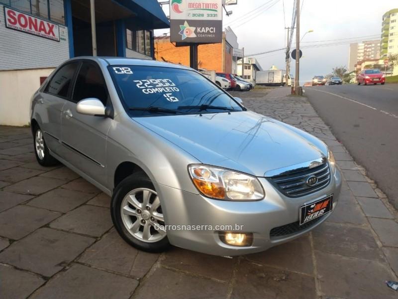 cerato 1.6 ex sedan 16v gasolina 4p automatico 2008 caxias do sul