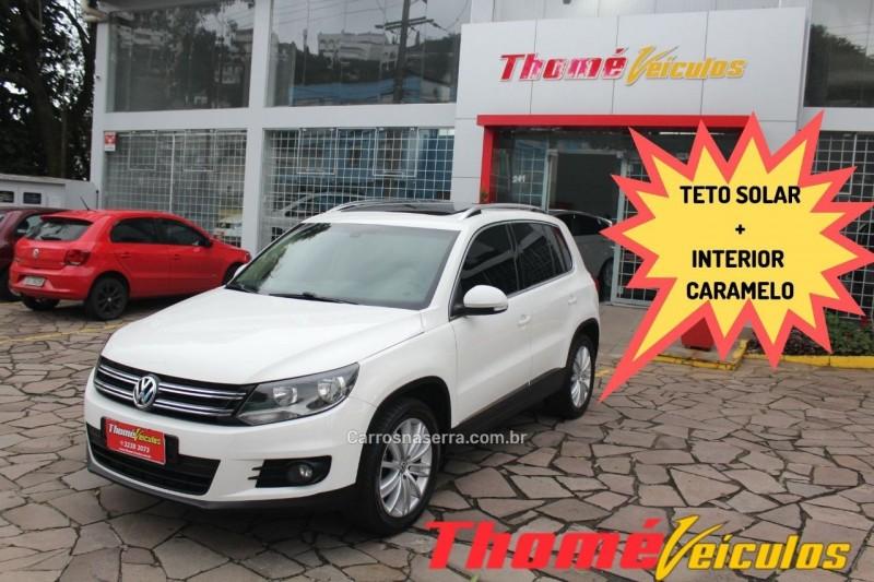 tiguan 2.0 tsi 16v turbo gasolina 4p tiptronic 2013 caxias do sul