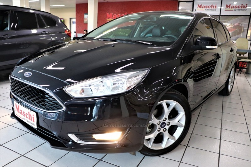 focus 1.6 se plus 16v flex 4p manual 2018 caxias do sul