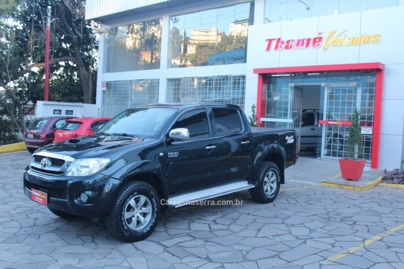 hilux 3.0 srv 4x4 cd 16v turbo intercooler diesel 4p automatico 2007 caxias do sul