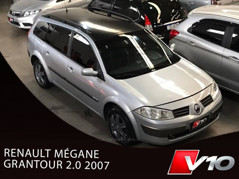 megane 2.0 dynamique grand tour 16v gasolina 4p manual 2007 caxias do sul