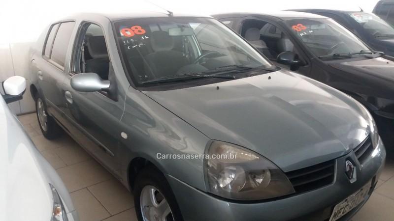 CLIO 1.6 PRIVILÉGE 16V FLEX 4P MANUAL - 2008 - CAXIAS DO SUL