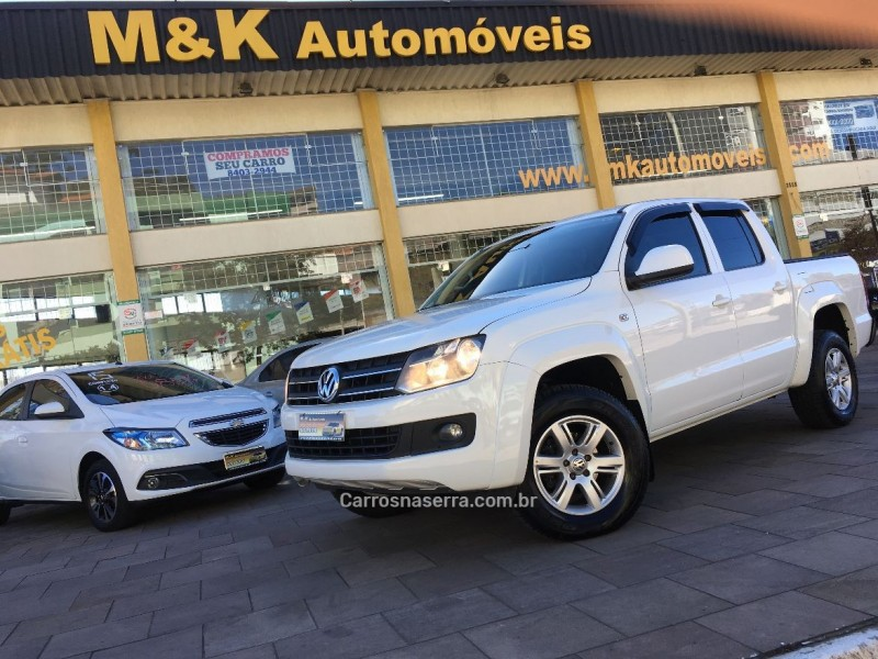 amarok 2.0 trendline 4x4 cd 16v turbo intercooler diesel 4p automatico 2013 caxias do sul