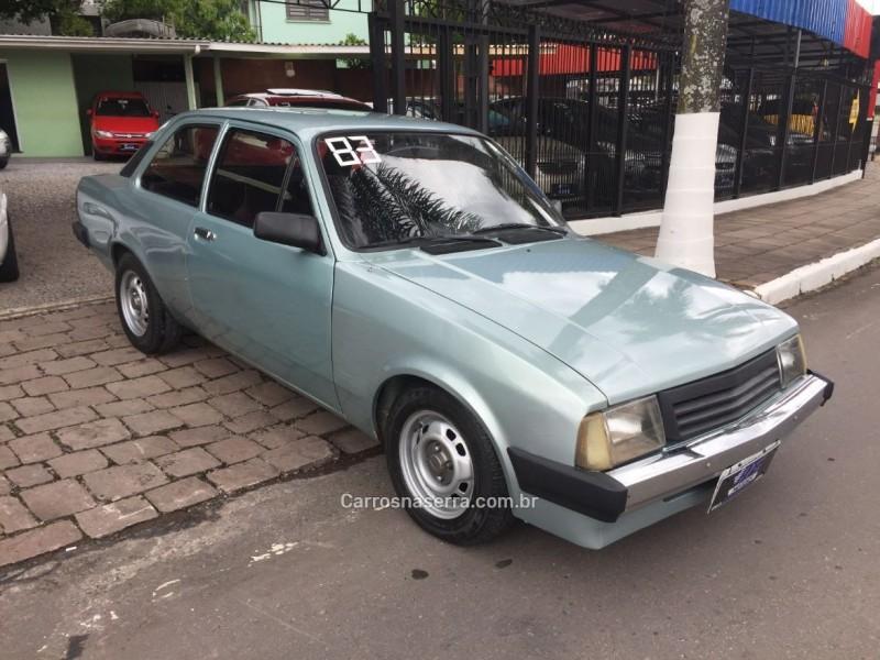 chevette 1.6 sl e 8v gasolina 2p manual 1983 caxias do sul