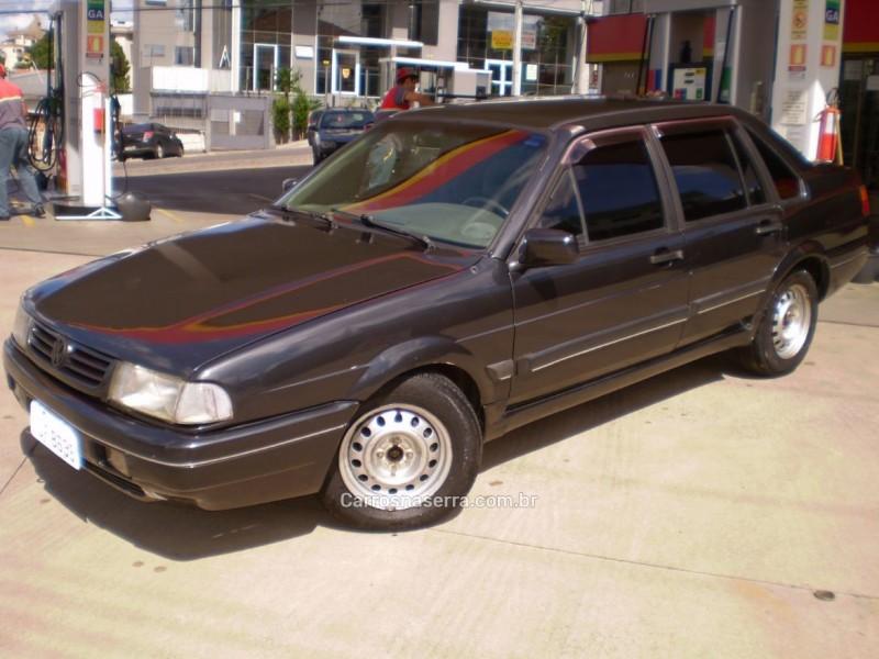 santana 1.8 cl 8v gasolina 4p manual 1992 caxias do sul