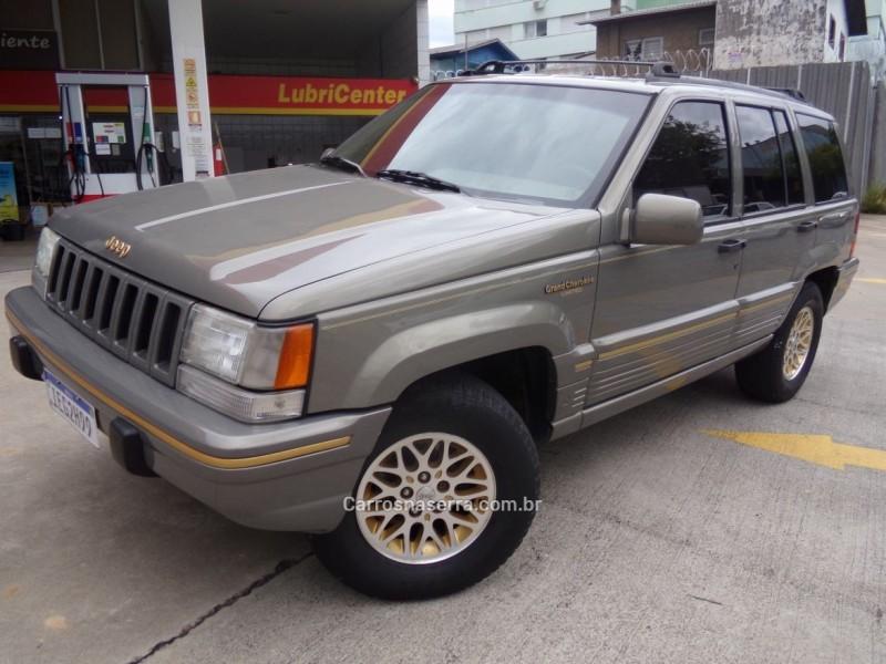 grand cherokee 5.2 limited 4x4 v8 16v gasolina 4p automatico 1995 caxias do sul