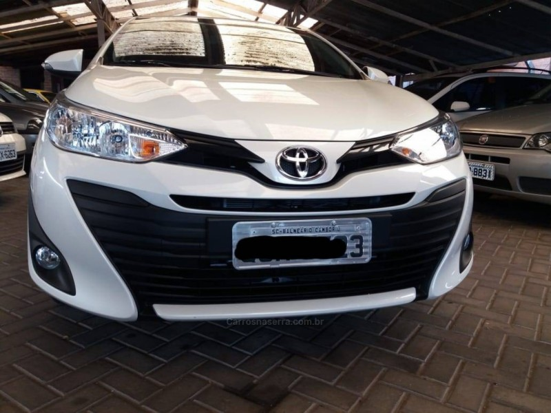 yaris 1.5 16v flex sedan xl multidrive3 2019 garibaldi