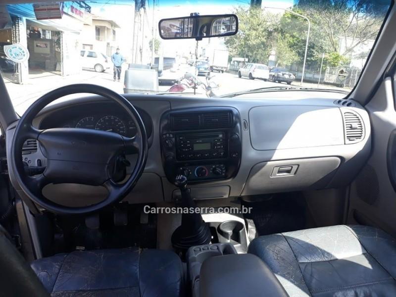 RANGER 4.0 XLT 4X4 CD V6 12V GASOLINA 4P MANUAL - 1999 - CAXIAS DO SUL