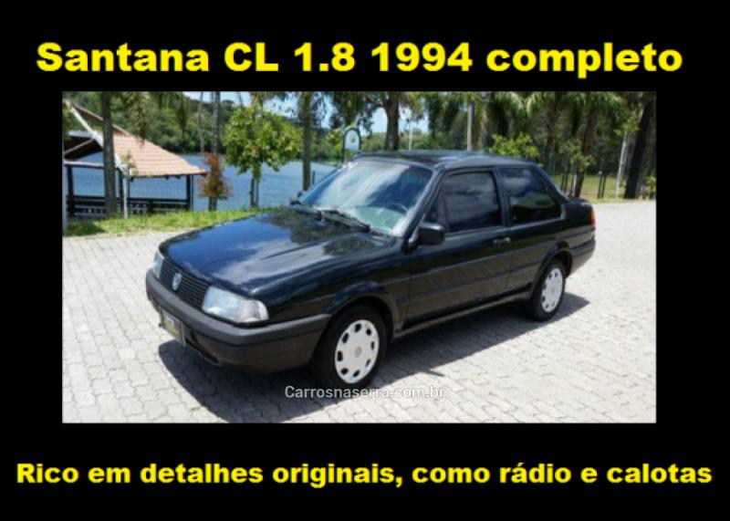 santana 1.8 cl 8v alcool 2p manual 1994 caxias do sul
