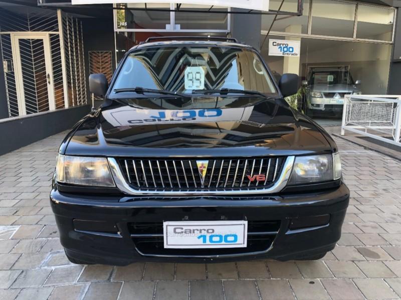 pajero sport 3.0 4x2 v6 24v gasolina 4p automatico 1999 caxias do sul