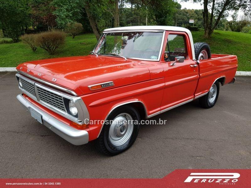 f 100 4.5 8 cilindros 16v gasolina 2p manual 1972 nova prata
