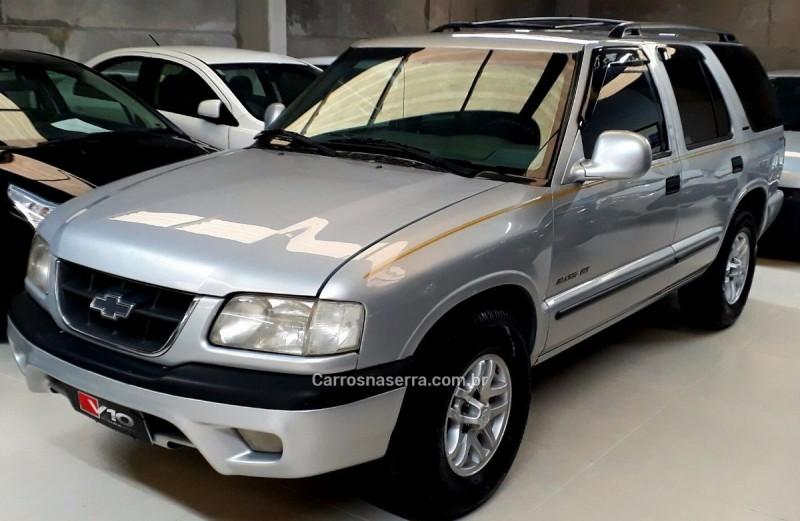 blazer 2.5 dlx 4x4 8v turbo diesel 4p manual 1999 caxias do sul