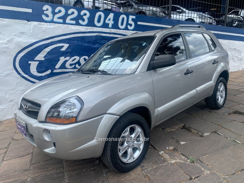 tucson 2.0 mpfi gl 16v 142cv 2wd gasolina 4p manual 2009 caxias do sul