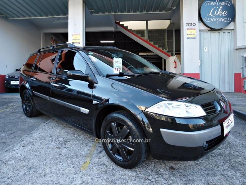 megane 2.0 dynamique grand tour 16v gasolina 4p automatico 2007 caxias do sul
