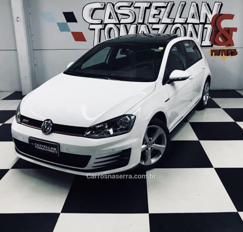 golf 2.0 tsi gti 16v turbo gasolina 4p automatico 2015 caxias do sul