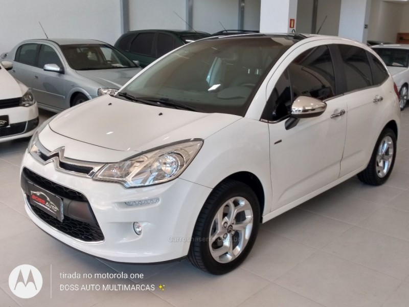 c3 1.6 exclusive 16v flex 4p automatico 2015 caxias do sul