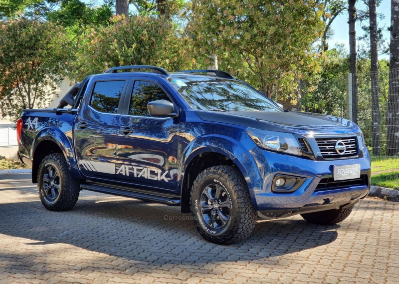 frontier 2.3 attack 4x4 cd bi turbo diesel 4p automatico 2020 nova petropolis