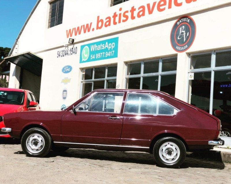 passat 1.5 ls 8v gasolina 2p manual 1978 sao francisco de paula