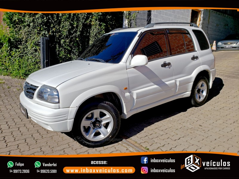 grand vitara 2.0 4x4 16v gasolina 4p automatico 1998 gramado
