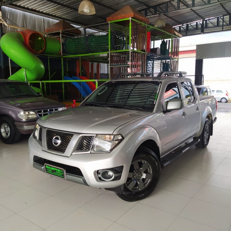 frontier 2.5 se attack 4x2 cd turbo eletronic diesel 4p manual 2014 caxias do sul