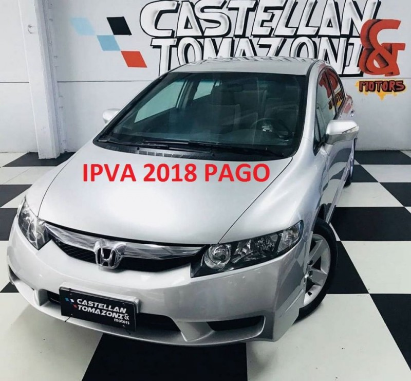 civic 1.8 lxl se 16v flex 4p automatico 2011 caxias do sul