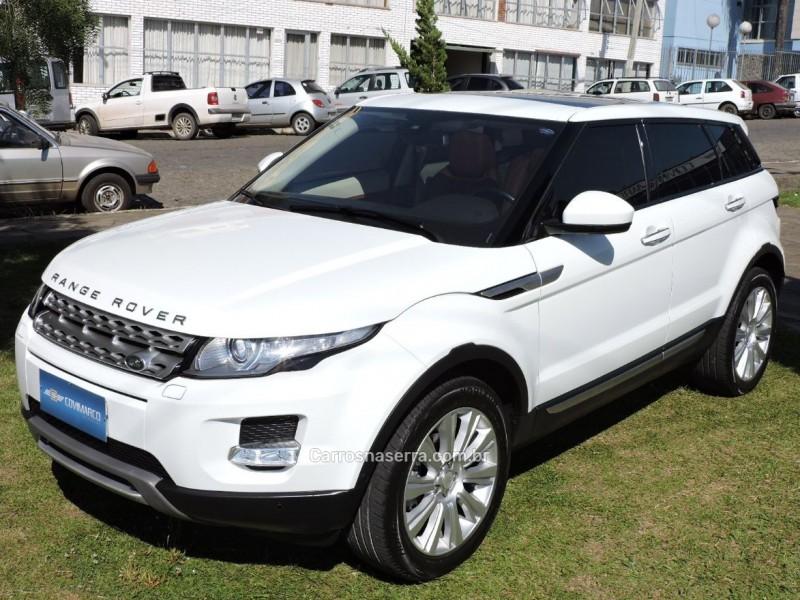 range rover evoque 2.0 prestige 4wd 16v gasolina 4p automatico 2014 sao marcos