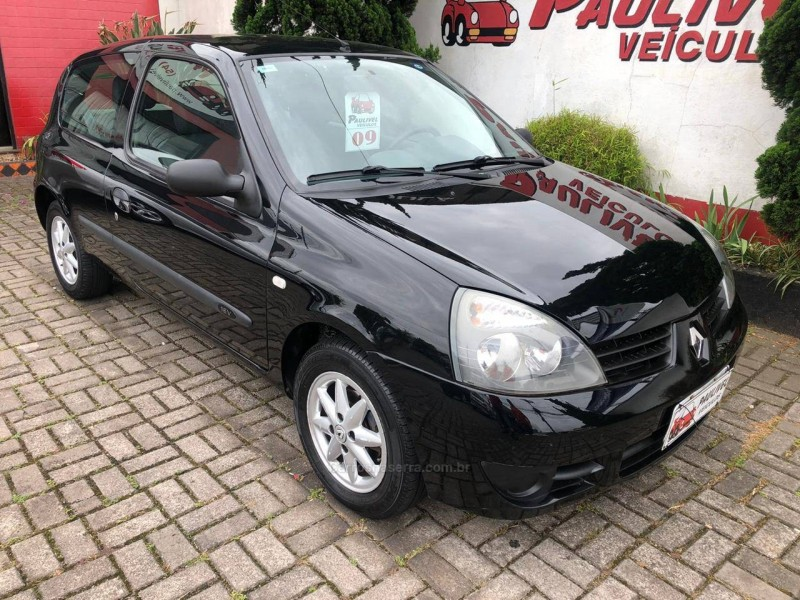 clio 1.0 campus 16v flex 2p manual 2009 caxias do sul