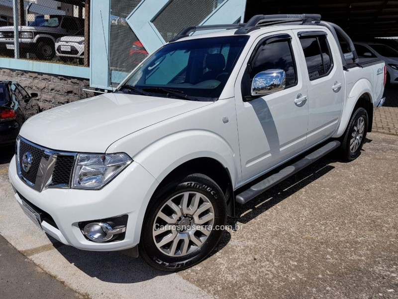 frontier 2.5 sl 4x4 cd turbo eletronic diesel 4p automatico 2016 farroupilha