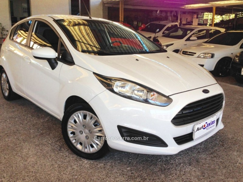 fiesta 1.5 s hatch 16v flex 4p manual 2014 caxias do sul
