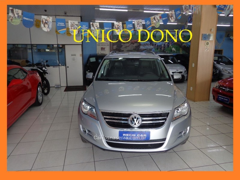 tiguan 2.0 tsi 16v turbo gasolina 4p tiptronic 2010 caxias do sul