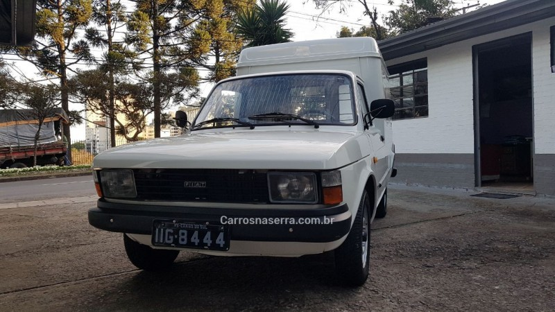 fiorino 1.3 furgao 8v gasolina 2p manual 1985 caxias do sul