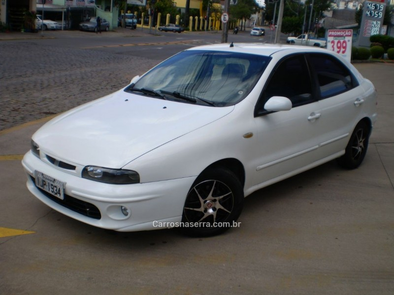 brava 1.6 mpi elx 16v gasolina 4p manual 2000 caxias do sul