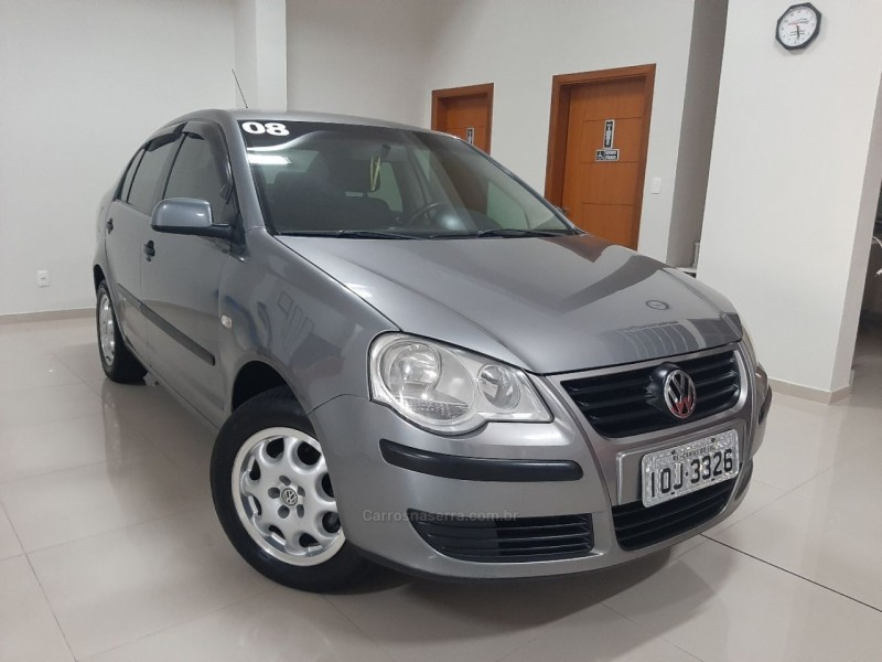 polo sedan 1.6 mi 8v flex 4p manual 2008 caxias do sul