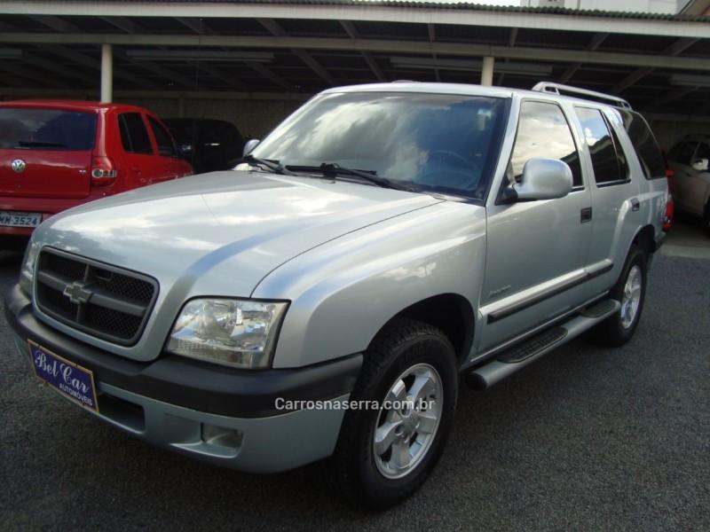 blazer 2.4 mpfi advantage 4x2 gasolina 4p manual 2006 caxias do sul
