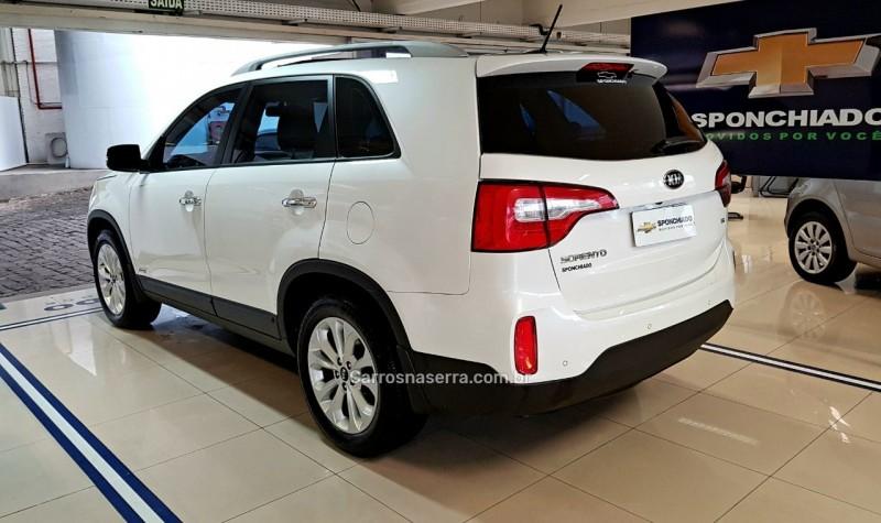 SORENTO 3.5 S.670 V6 4X4 24V GASOLINA 4P AUTOMÁTICO - 2014 - CAXIAS DO SUL