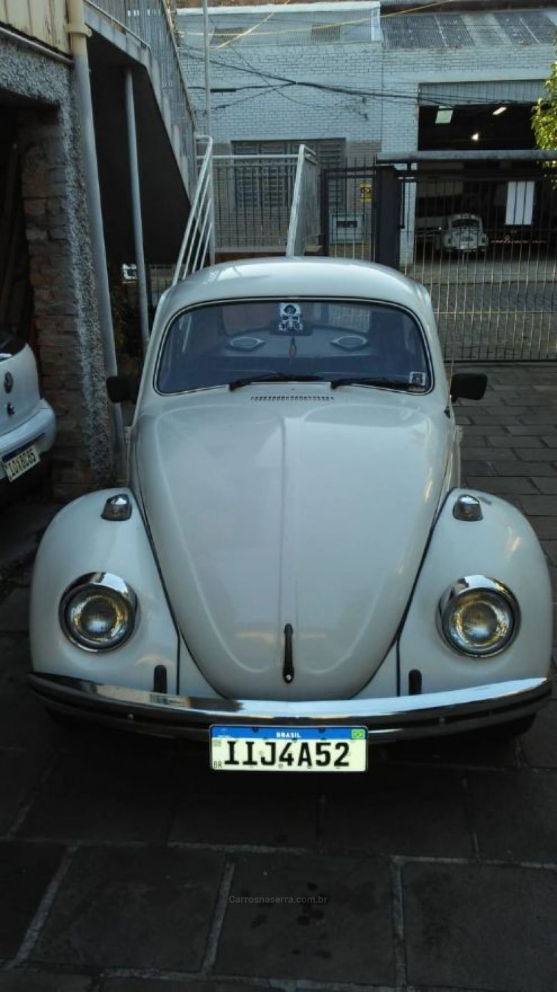 fusca 1.6 8v gasolina 2p manual 1984 caxias do sul