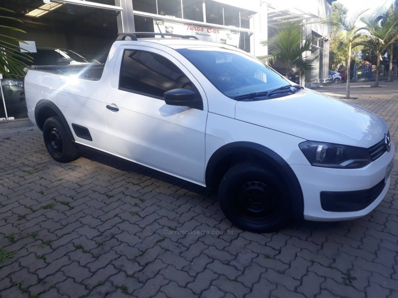 saveiro 1.6 mi cs 8v flex 2p manual g.vi 2015 nova prata