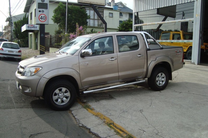 hilux 3.0 sr 4x4 cd 16v turbo intercooler diesel 4p manual 2008 flores da cunha