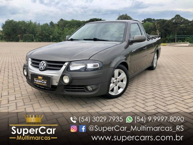 saveiro 1.6 mi surf cs 8v flex 2p manual g.iv 2009 caxias do sul
