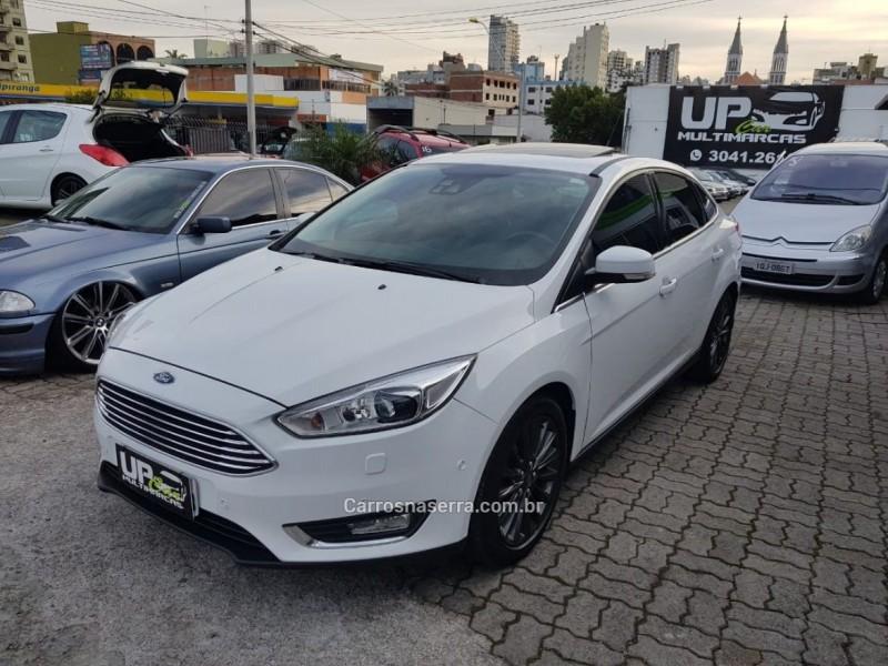 focus 2.0 titanium plus sedan 16v flex 4p powershift 2016 caxias do sul