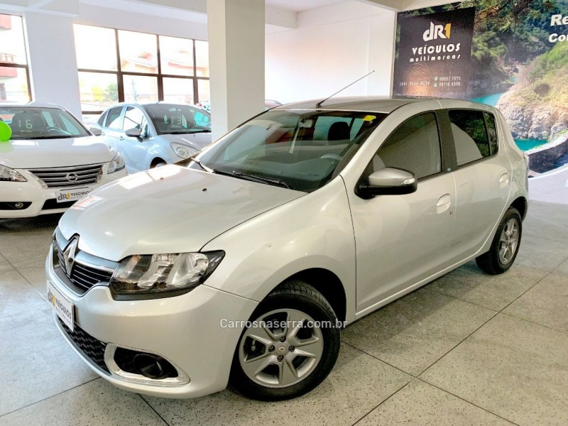 sandero 1.0 vibe 12v flex 4p manual 2018 caxias do sul