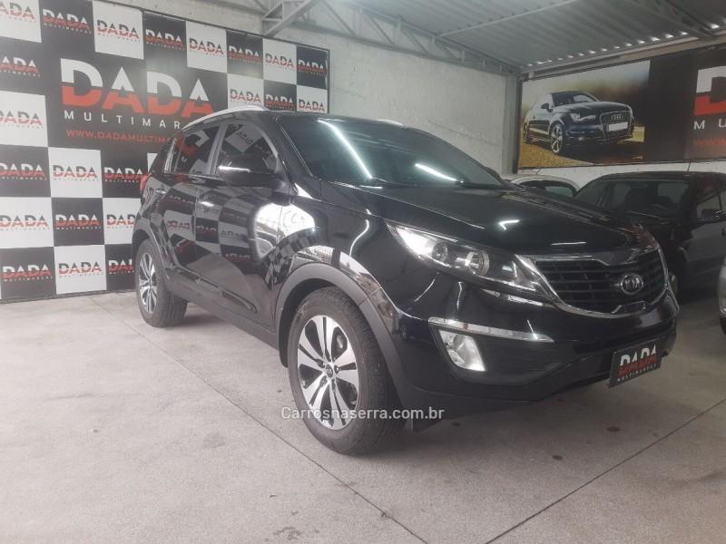 sportage 2.0 ex 4x2 16v gasolina 4p automatico 2012 caxias do sul