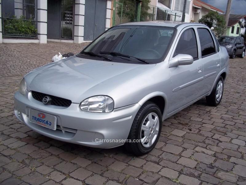 corsa 1.0 mpfi milenium ii sedan 8v gasolina 4p manual 2001 caxias do sul