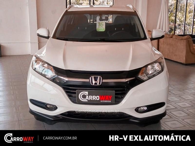 HR-V 1.8 16V FLEX EXL 4P AUTOMÁTICO - 2016 - FELIZ