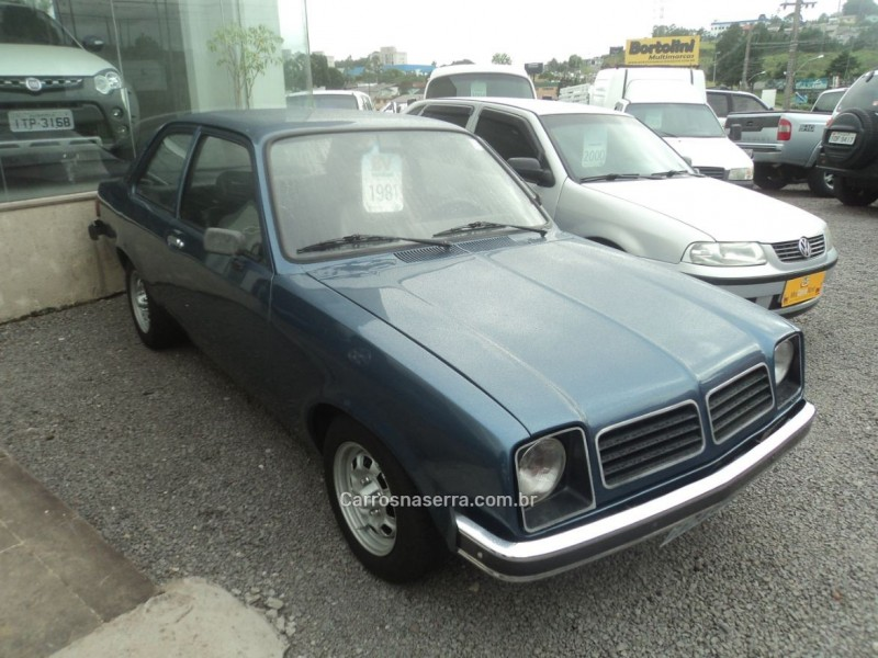 chevette 1.6 l 8v gasolina 2p manual 1981 farroupilha